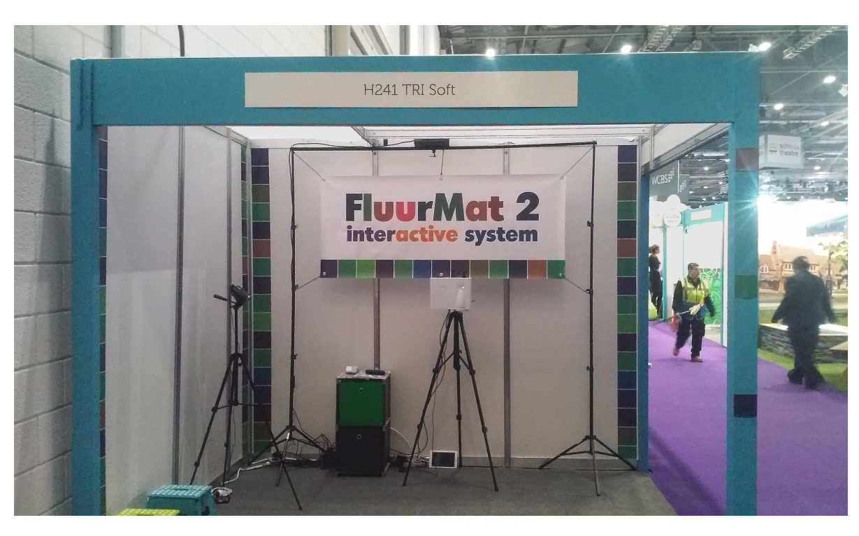 FluurMat interactive floors for education and entertainment BETT London