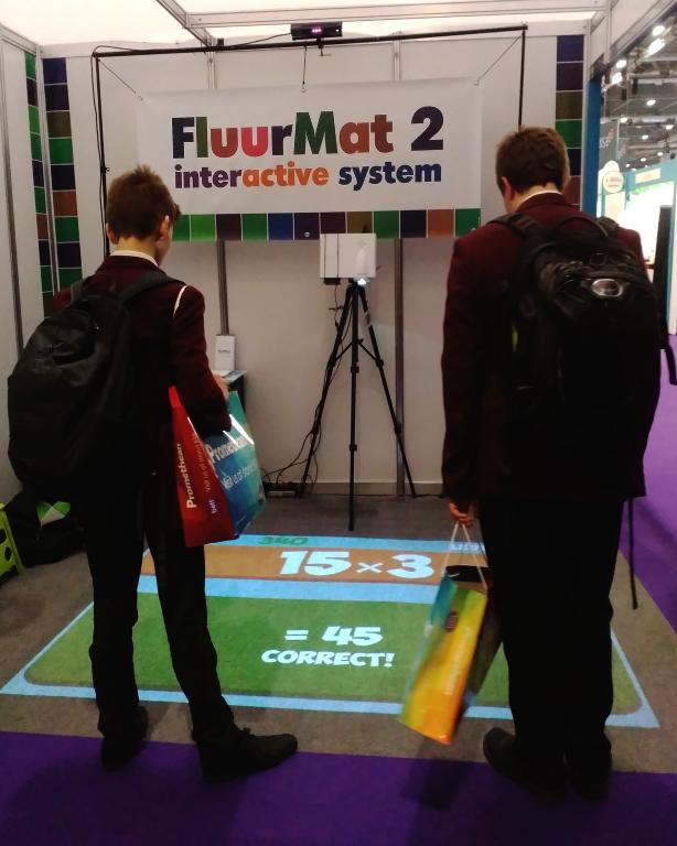 Fluurmat 2 - интерактивен под за деца